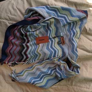 Missoni wool blend scarf BNWT